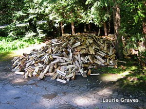 Oh, you wood pile!
