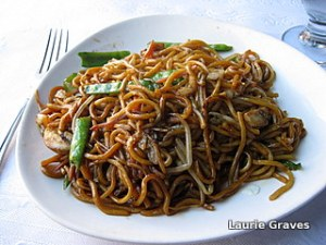 Lovely lo mein
