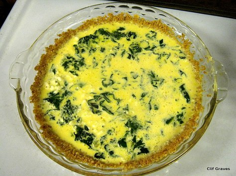 The uncooked quiche