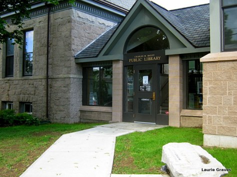 The entrance to our expanded library